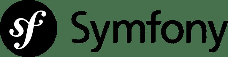 Logo framework PHP Symfony